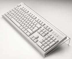 Angled Keyboard Rest