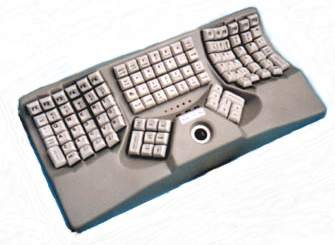 Maltron Keyboard with Trackball